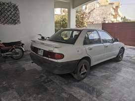 93 model lancer Islamabad reg white colour for sale.