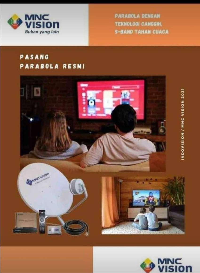 PARABOLA/ANTENA/MNCVISION/INDOVISION/TOP TV