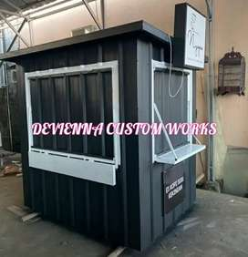 Booth Container coffee shop Container booth minuman booth usaha