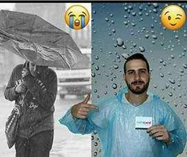 20Rs Rain Card pocket or wallet raincard Sira gate tumakur