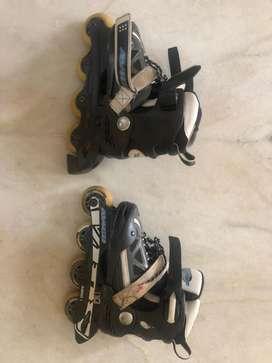 Single line shoe rollers