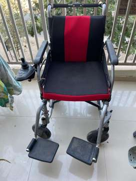 Automatic Wheel chair + chargeable battery
