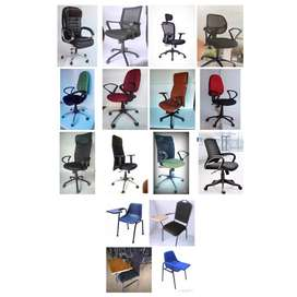 Top range collection of pushback chairs