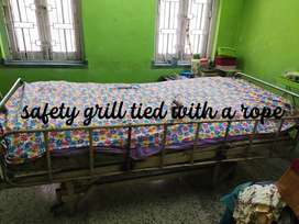 Iron hospital bed