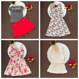 Dijual paket usaha / pakaian preloved wanita