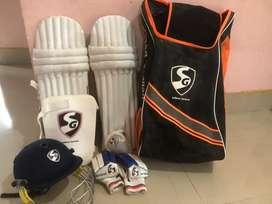 SG season cricket kit for youth