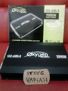 Power Audio 4 Channel OXYGEN High Power 9000 W by STEVE VARIASI OLX