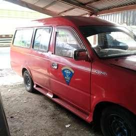 mobil angkot kijang Kapsul th 2005 rute Padang Indarung
