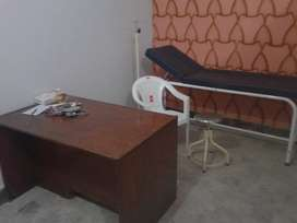 Doctor clinic setup furniture