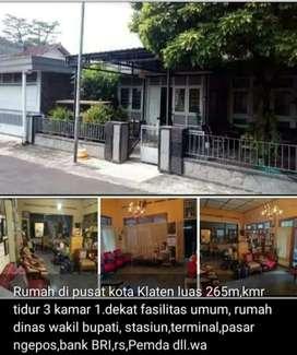 Dijual Rumah di Klaten