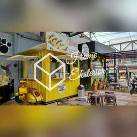 PROMO TAHUN BARU - CONTAINER BOOTH CUSTOM - CONTAINER CAFE BAR RESTO