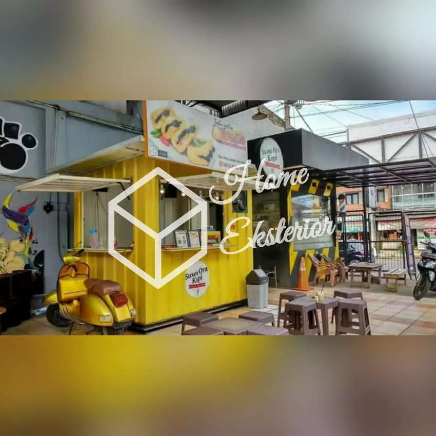 PROMO TAHUN BARU - CONTAINER BOOTH CUSTOM - CONTAINER CAFE BAR RESTO 0