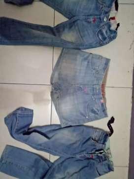 Celana Anak Cewek Guess Asli ukuran 4 sampai 6thn