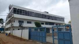 40000sft Rcc G+2 floors industrial/warehouse building for rent -krpurm
