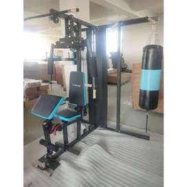 Home Gym 3 Sisi + Samsak Fitclass Beban 75kg COD Bonus Sarung Tinju