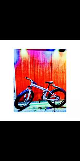 Fat bike bicycle in good condition