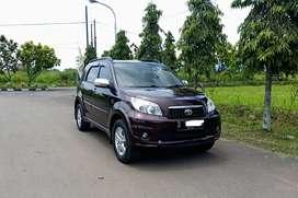 Toyota Rush G 1.5 AT 2011 /2012 Merah Matic NO PR,Siap pakai