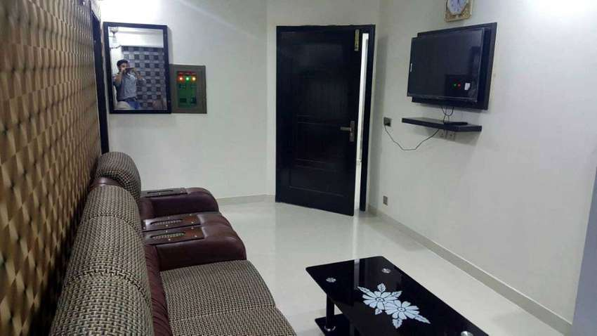 1-Bed Fully Furnished Apatrment for Rent in Bahria Town Lahore 0