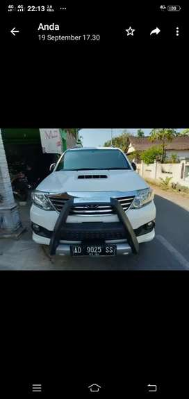 Jual mobil bekas Toyota Fortuner G Automatic 2013