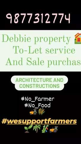 2 BHK 1st floor rent nr Rishi Nagar for rent by Debbie