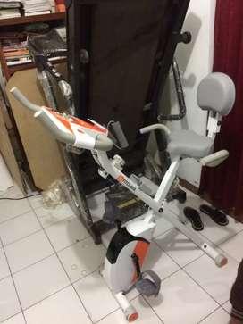 Sepeda statis magnetik bike tipe Xbike ( suara halus )