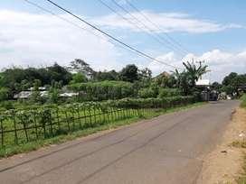 Tanah Darat Pinggir Jalan diJual Cepat di Jl Cibogo Girang Plered Pwkt