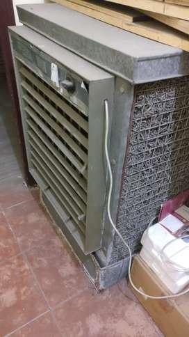 Desert water cooler with big exhaust fan having double copper wire