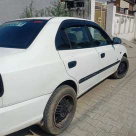 Modify accent car in very Good condition