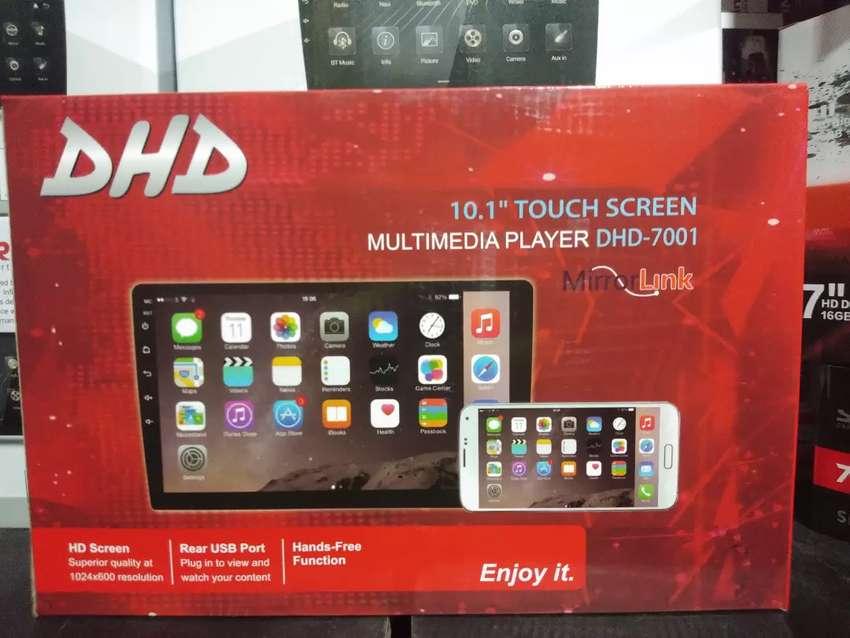 Android dhd 10inchi multimedia bluethoot mirrorlink Wi-Fi full hd