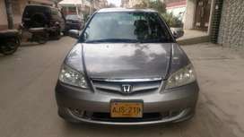 Civic v.t.i oriel prosmatic 2005 full orignal car