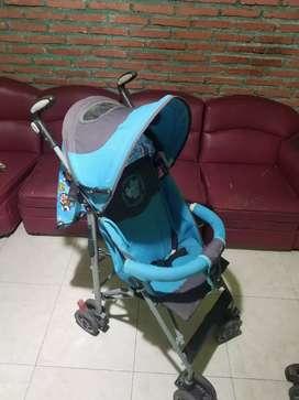 Stroller Duduk Pliko Warna Blue