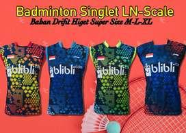 baju pakaian badminton bulutangkis
