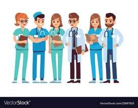 BSC,GNM,ANM Nursing Staff