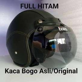 helm kulit bogo