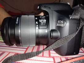Canon EOS 3000 D DSLR CAMERA TWO DAYS OLD ONLY AT BEST PRICE