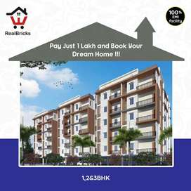 25min Drive from Madhapur 1,2&3 Bhk Flats for sale at Patancheru