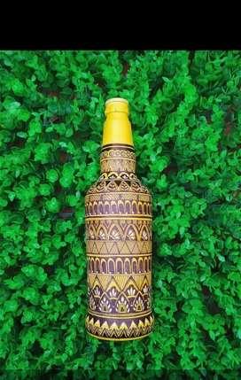 Bottle art, Bed lamp