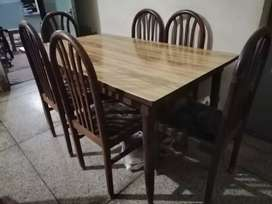 6 chairs Dinning Table