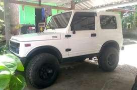 Suzuki Katana GX 1989 putih modif