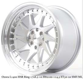 model OZORA L1400 HSR R17X85/10 H8X100-114,3 ET30/20 SMF/ML