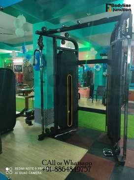Heavy duty full commercial gym equipment machine setup manufacturer.
