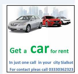 Car on rent services in Sialkot Chaudhry Sarfraz