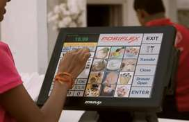 Posiflex XP-3000 POS Billing Machine With Retail Software Touch Screen