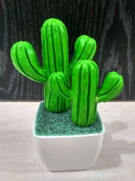 Bunga kaktus imut dan harum dari sabun