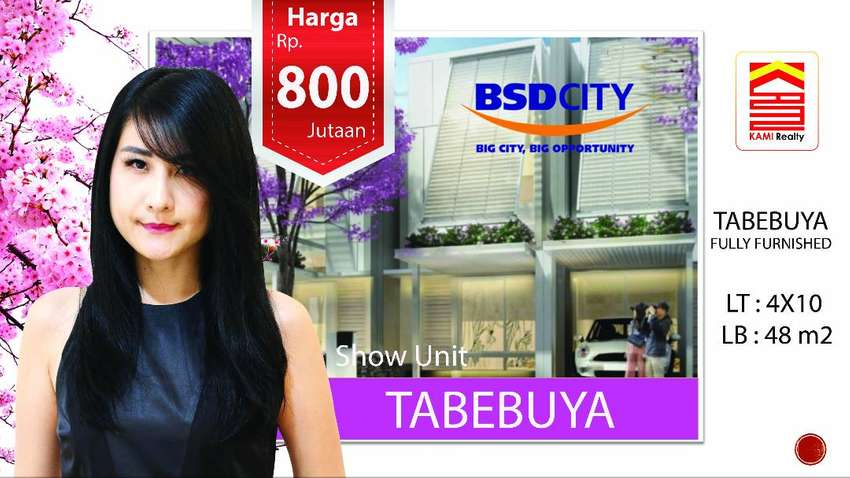 Cluster Tabebuya BSD Serpong   #FULLY FURNISHED   #fleekhauz #tabebuya 0