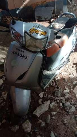 Honda activa in Kovilpatti, tuticorin district.