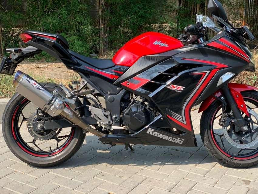 CASH CREDIT jual motor moge kawasaki ninja 250 fi SE NASSERT BEET 0
