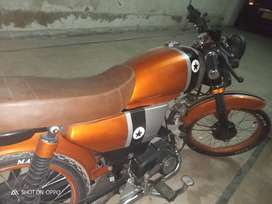 Fully modified STAR (CAFE RACER)