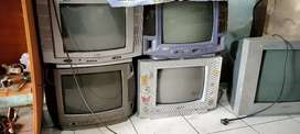 Tv bekas 14 inc bergaransi byk pilihan