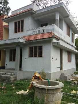 3 bhk 1100 sqft 3 cent new build house at varapuzha aluva road